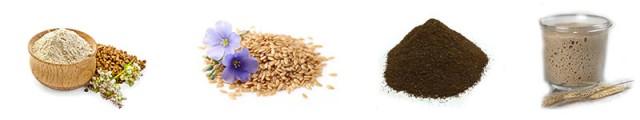 Смесь мучная хлебопекарная «ГРЕЧНЕВАЯ СО ЛЬНОМ»